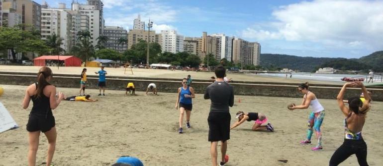 Thiago Arias inaugura assessoria de corrida e treinamento funcional na praia